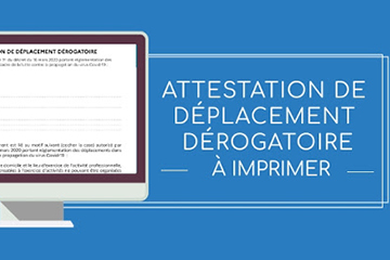 ATTESTATION DE DEPLACEMENT