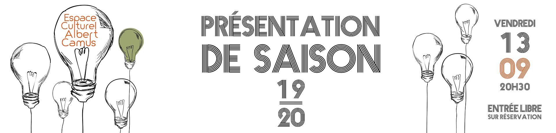 LANCEMENT DE LA SAISON CULTURELLE