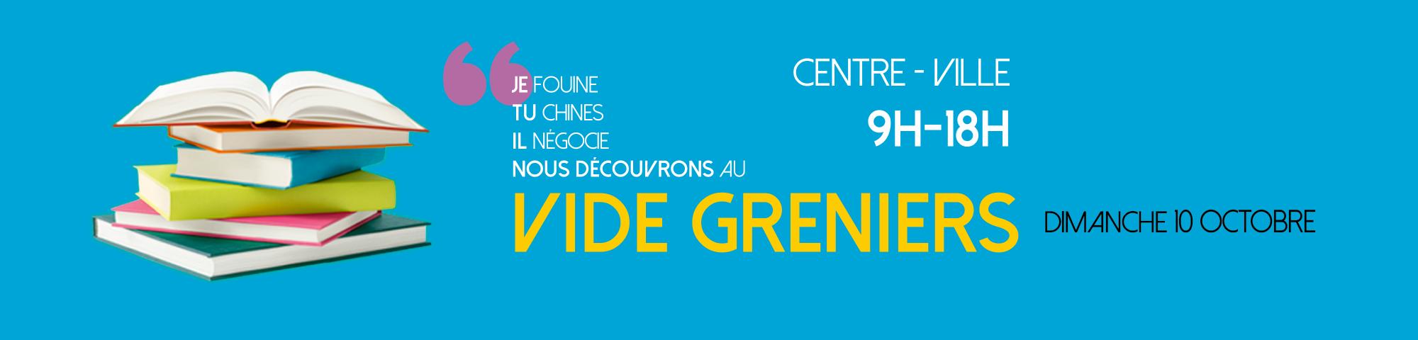 VIDE-GRENIERS D'AUTOMNE